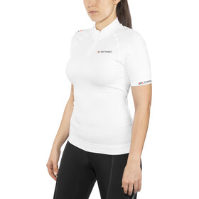 X-Bionic Biking Ae Lady Race Ow Shirt Sh_Sl. Dam white/pearl grey